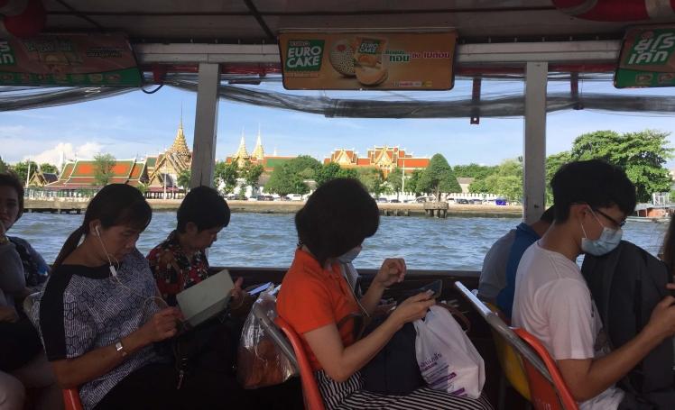 Shuttle Boat in Bangkok, Thailand