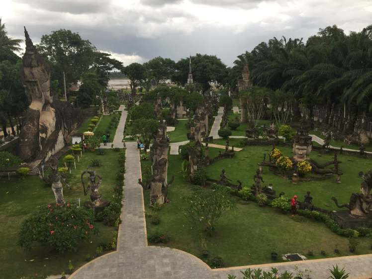 Buddha Park in Vientiane, Laos