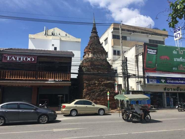 Chedi in Chiang Mai, Thailand
