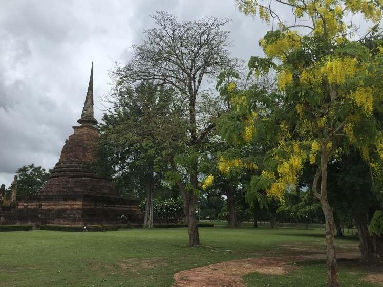 Chedi in Sukhothai, Thailand