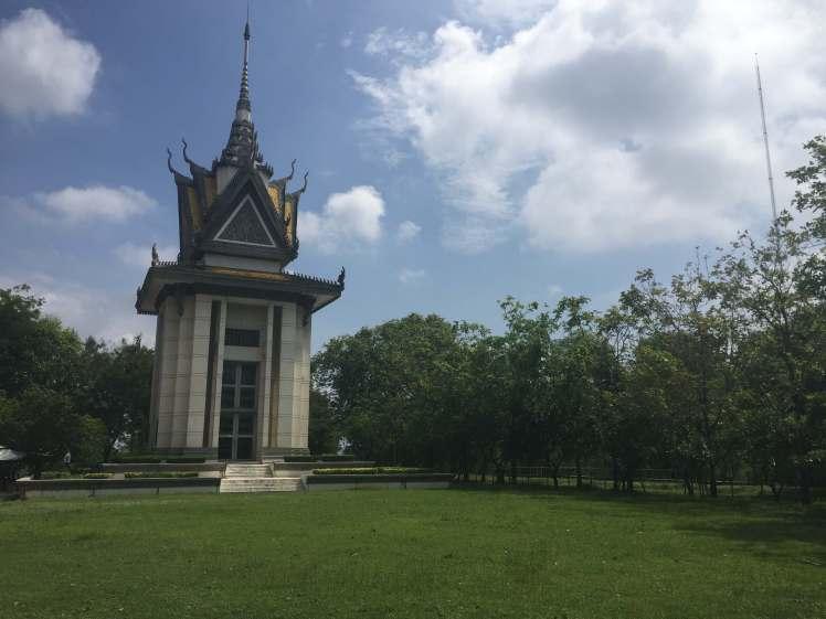 Cheoung Ek Killing Field in Phnom Penh, Cambodia