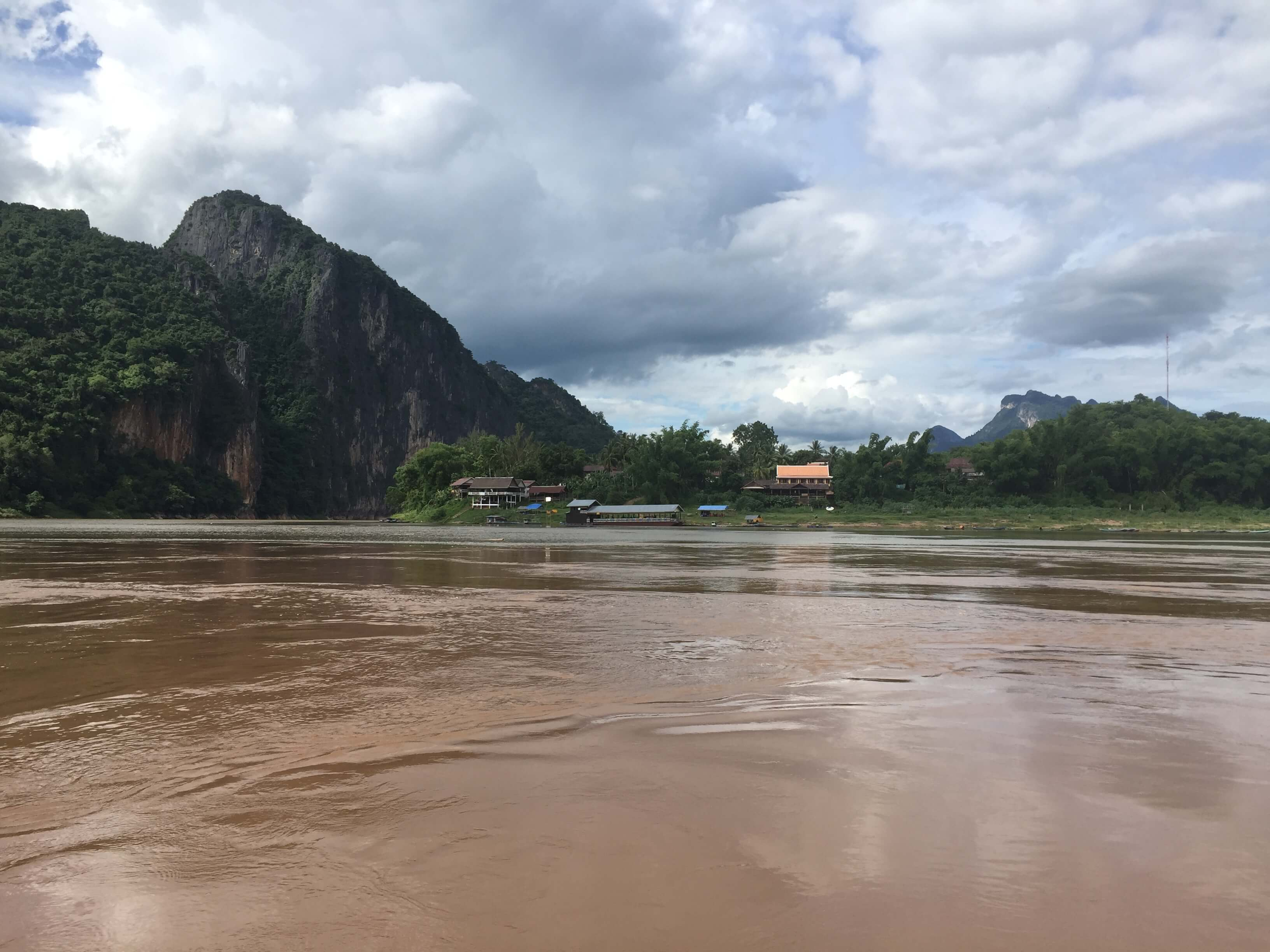 Dramatic Mekong Scenery in Laos