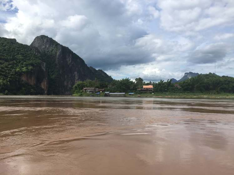 Dramatic Mekong Scenery in Laos