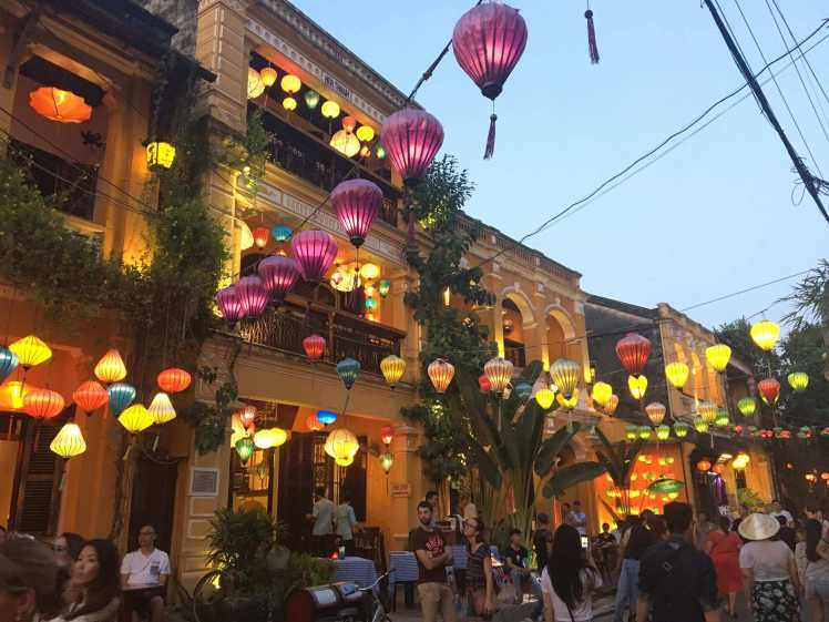 Evening Lanterns in Hoi An, Vietnam