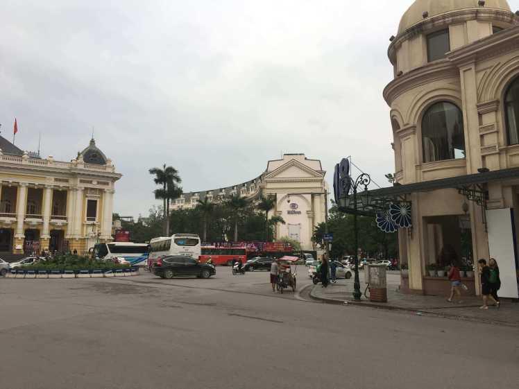Hilton Hotel in Hanoi, Vietnam