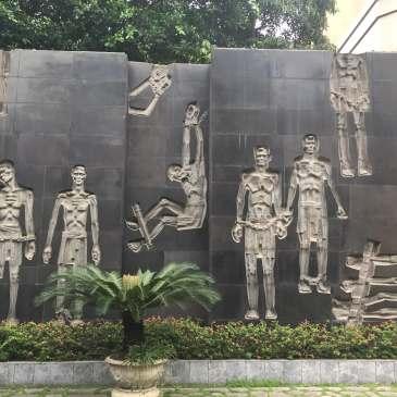 The Hoa Lo Prison (Maison Centrale) in Hanoi, Vietnam