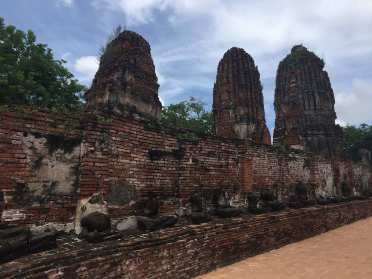 Khmer-Style Temple in Ayutthaya, Thailand