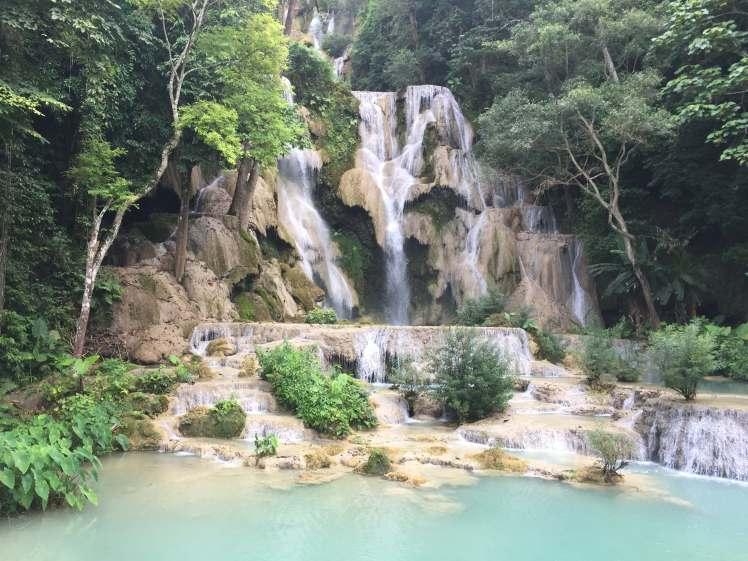 Kwang Si Falls near Luang Prabang, Laos