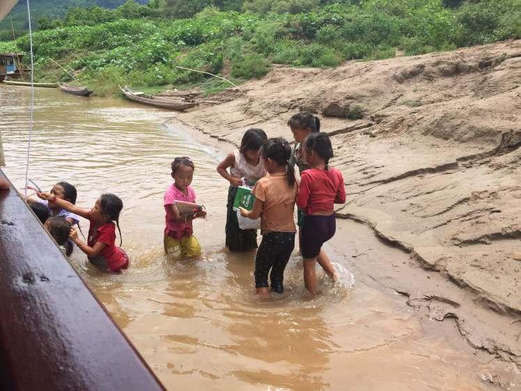 Lao Entrepreneurs along the Mekong River