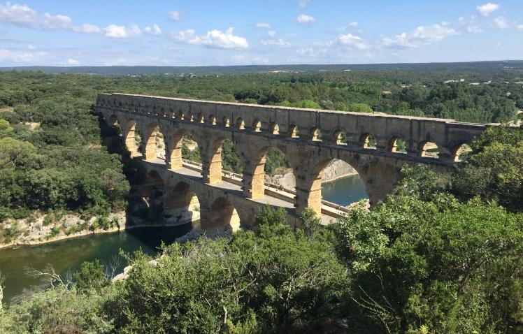Le Pont du Gard near Nîmes, France