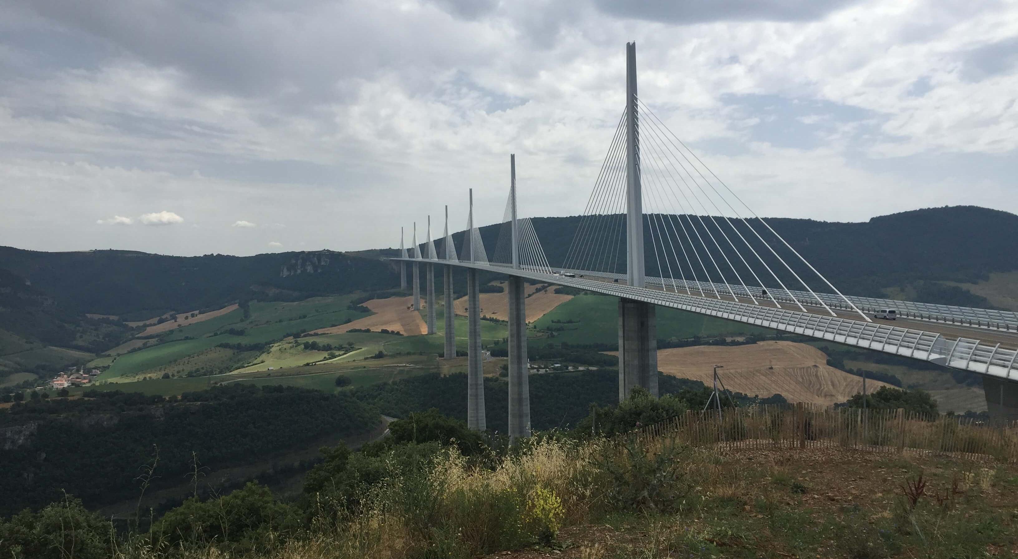 Le Viaduc de Millau near Millau, France