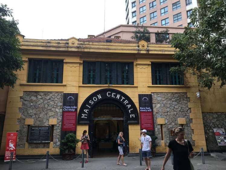 The Maison Centrale (Hanoi Hilton) in Hanoi, Vietnam