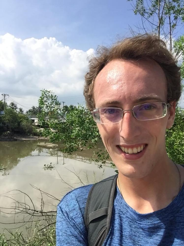 Selfie in the Mekong Delta, Vietnam