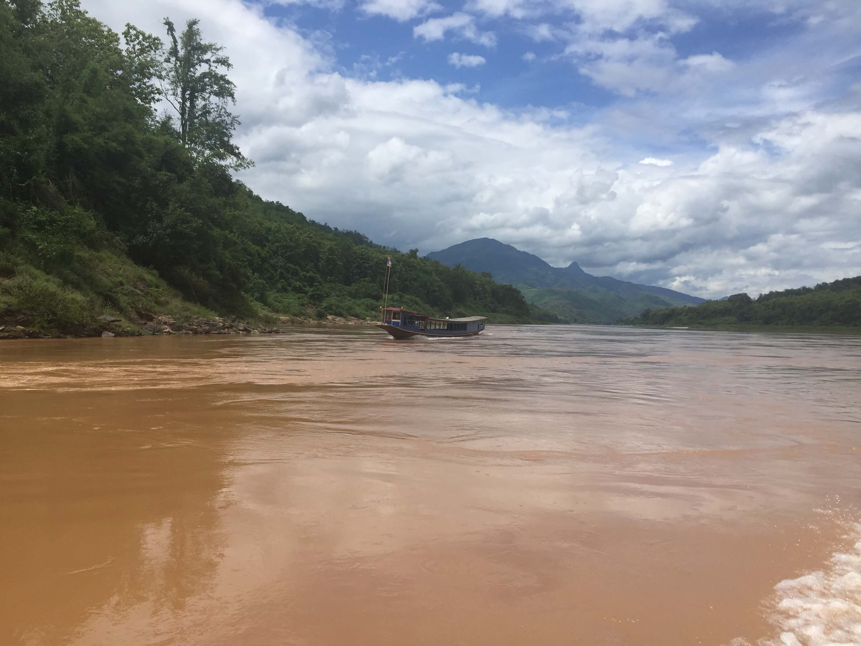 The Mekong River in Laos