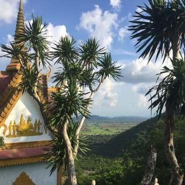 Phnom Sampeau near Battambang, Cambodia