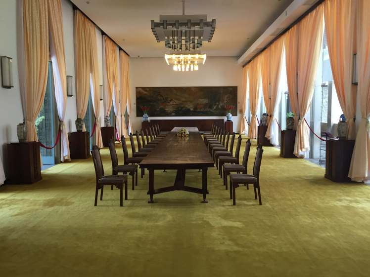 A Meeting Room in the Reunification Palace in Ho Chi Minh City, Vietnam