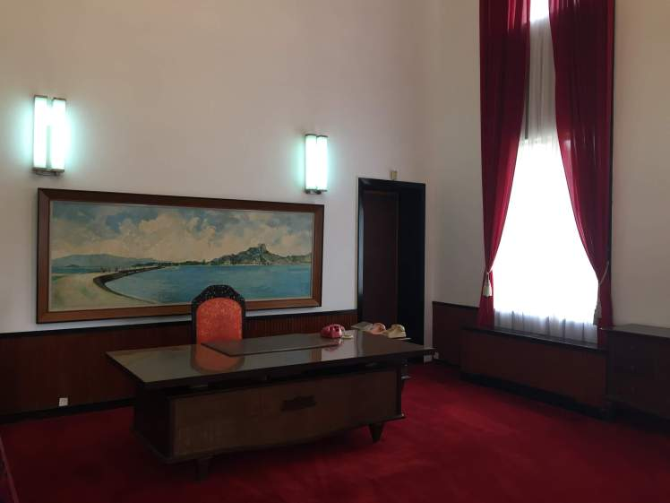 An Office in the Reunification Palace in Ho Chi Minh City, Vietnam