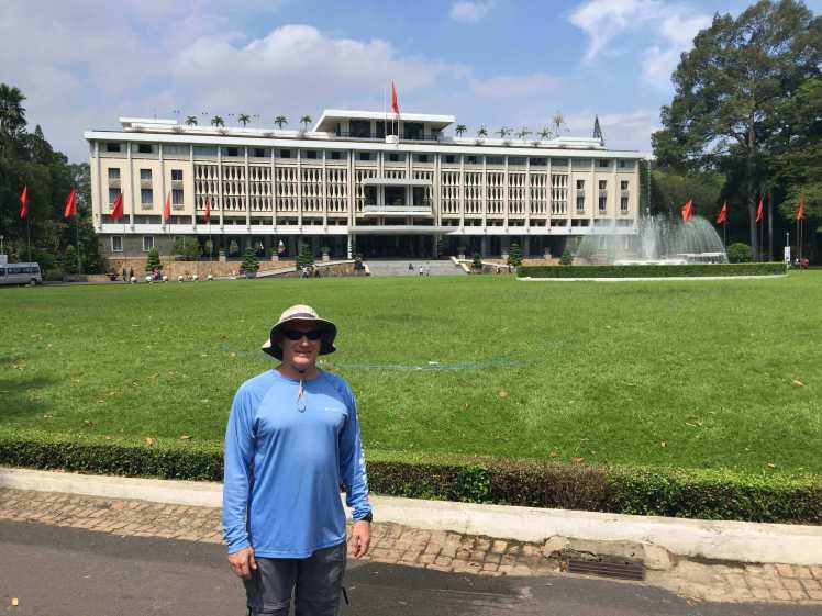 The Reunification Palace in Ho Chi Minh City (Saigon), Vietnam