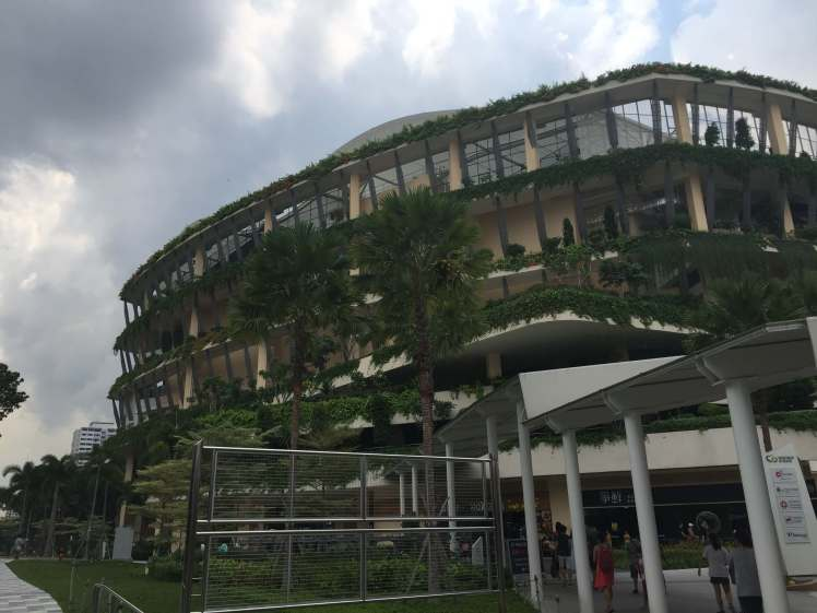 Bedok Community Center in Singapore