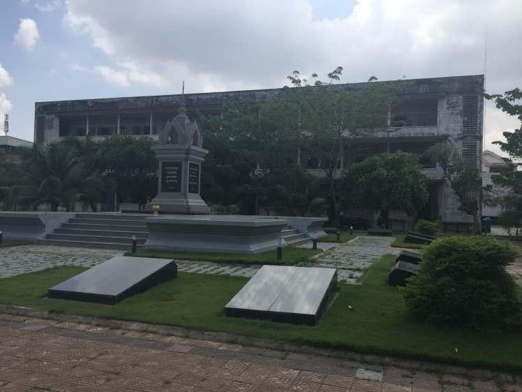 Tuol Sleng Prison in Phnom Penh, Cambodia