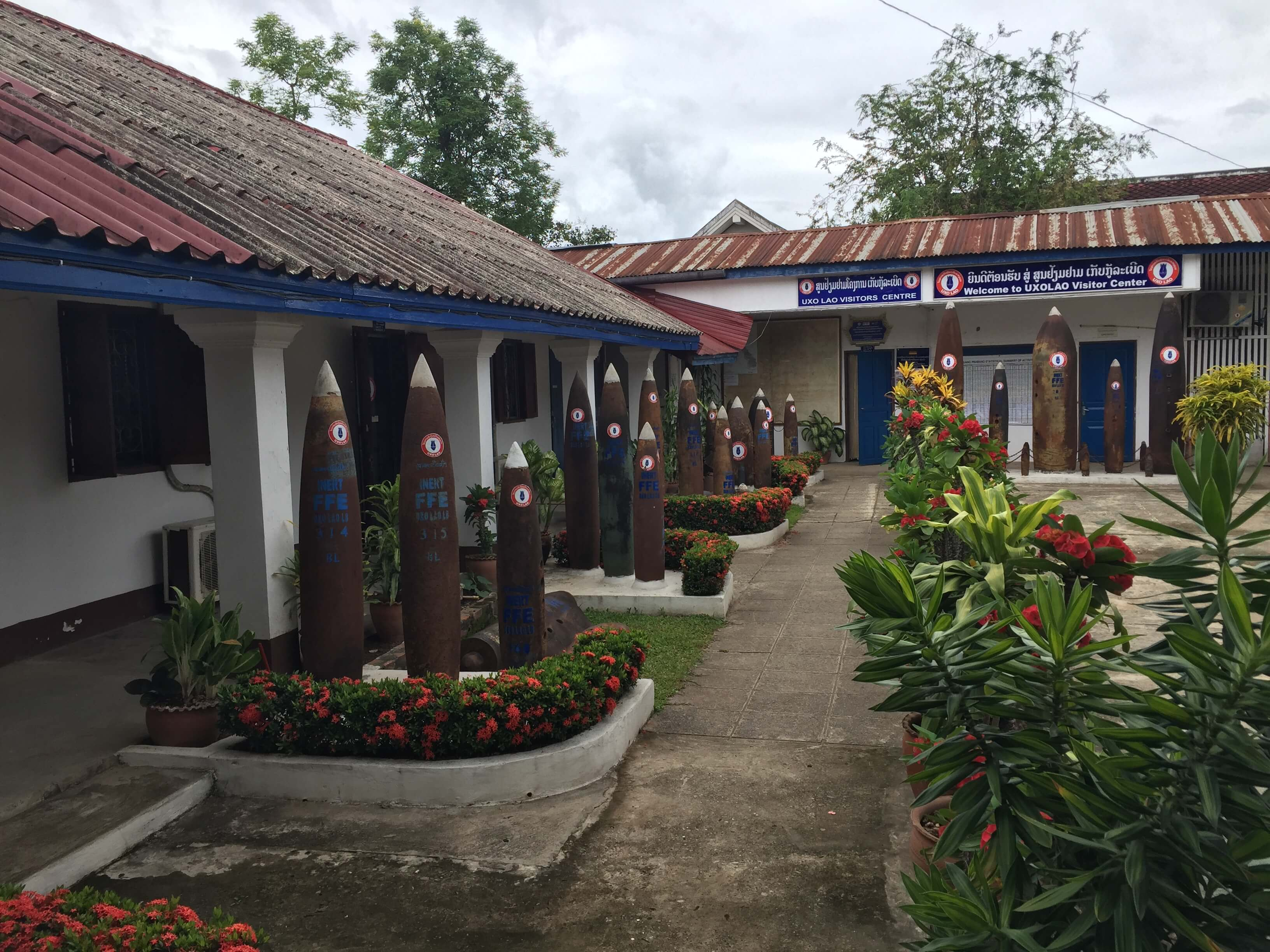 The UXO Visitor Center in Luang Prabang, Laos