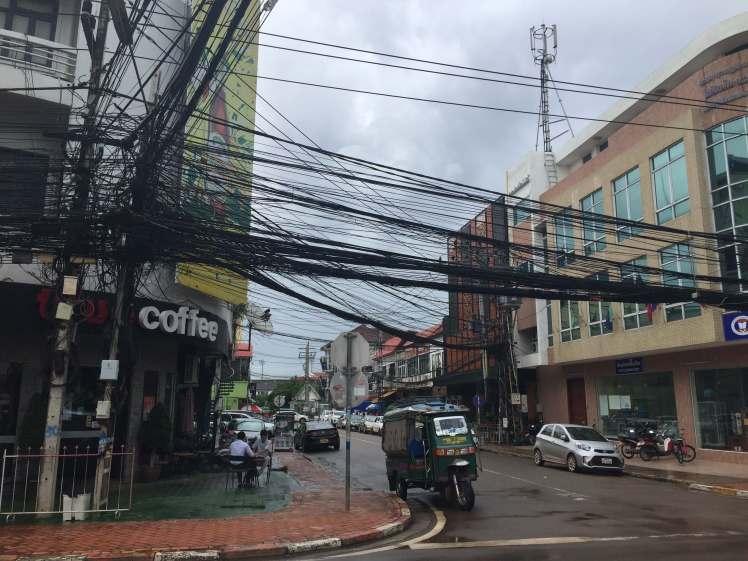 A Café in Vientiane, Laos