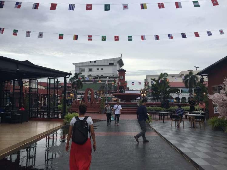 A Square in Vientiane, Laos