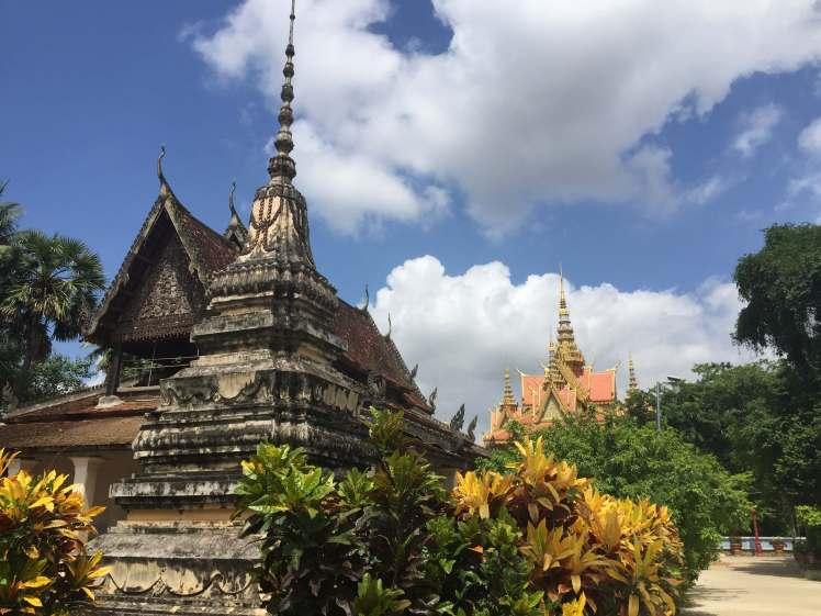 Wat Samrong Krong in Battambang, Cambodia