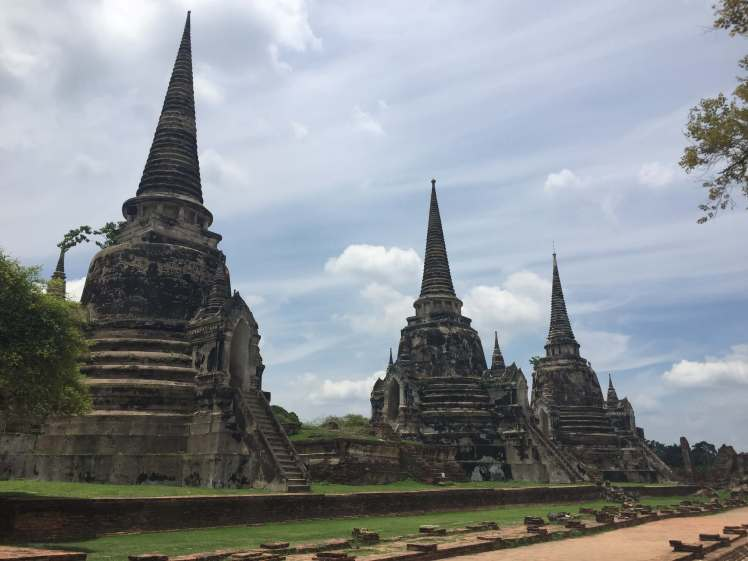 What Phra Si Sanphet i Ayutthaya, Thailand