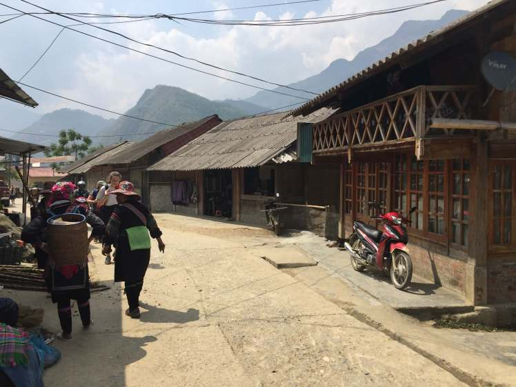 A Mountain Village in Sapa, Vietnam
