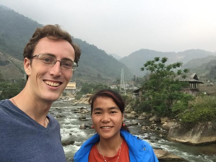 Aaron and Lilly in Sapa, Vietnam