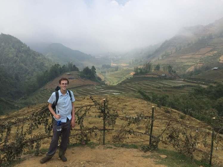 Aaron in Sapa, Vietnam