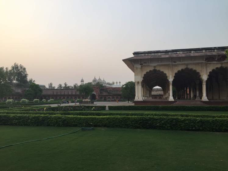 Agra Fort in Agra, India
