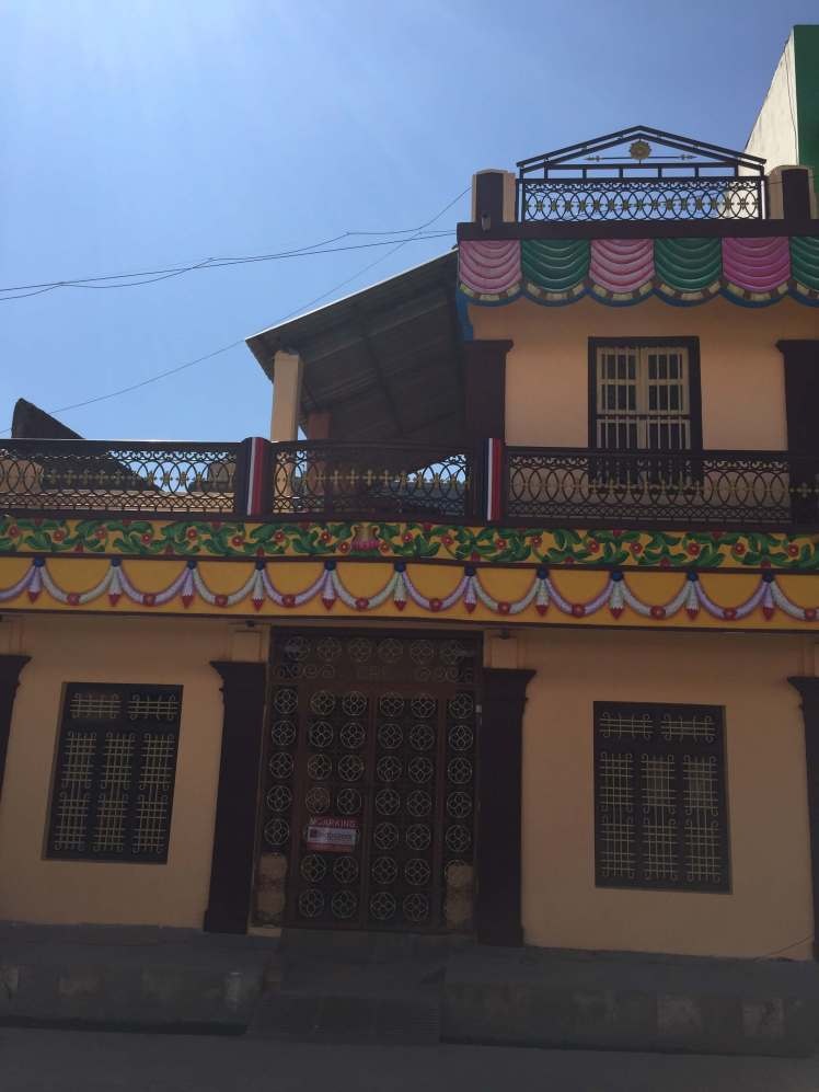A Beautiful House in Podicherry, India
