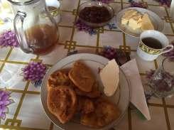 Breakfast in Theth, Albania