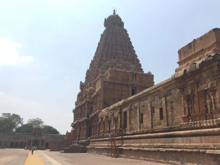 The Vimana of the Brihadisvara Temple in Thanjavur, Tamil Nadu, India