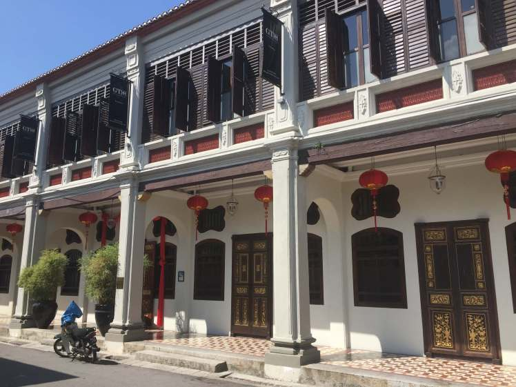Chinese Houses in George Town, Malaysia