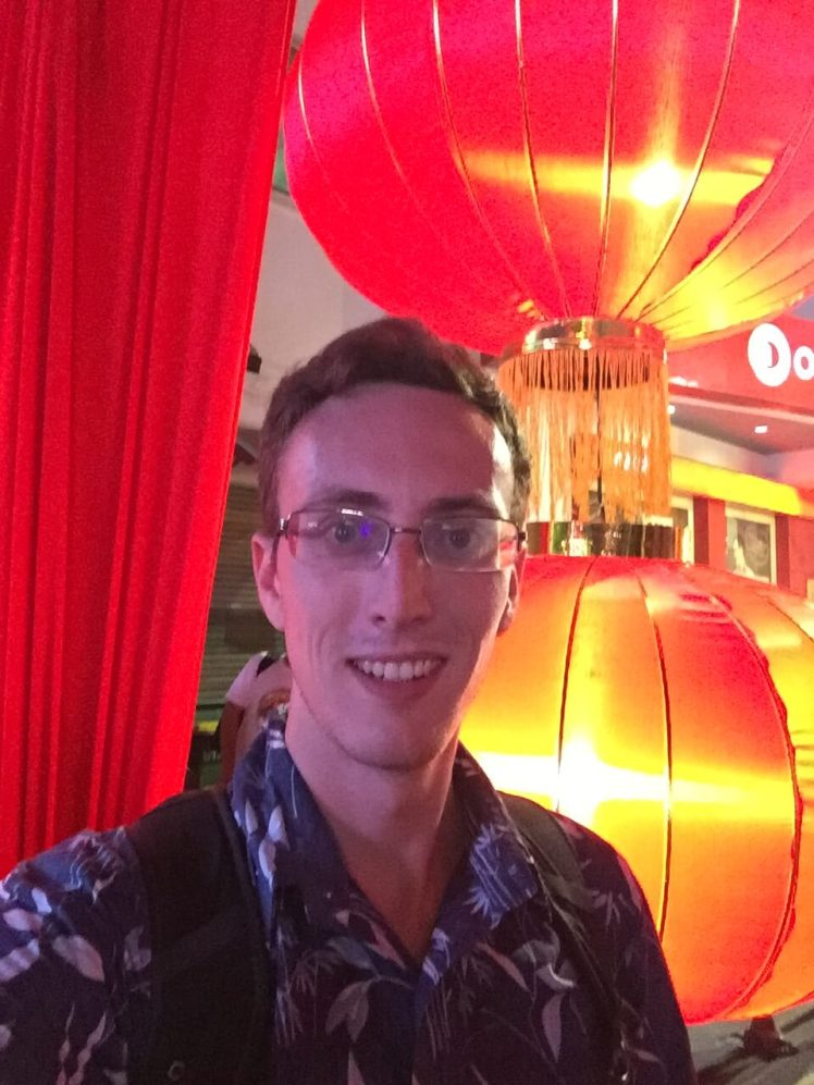 Chinese New Year Selfie in George Town, Malaysia