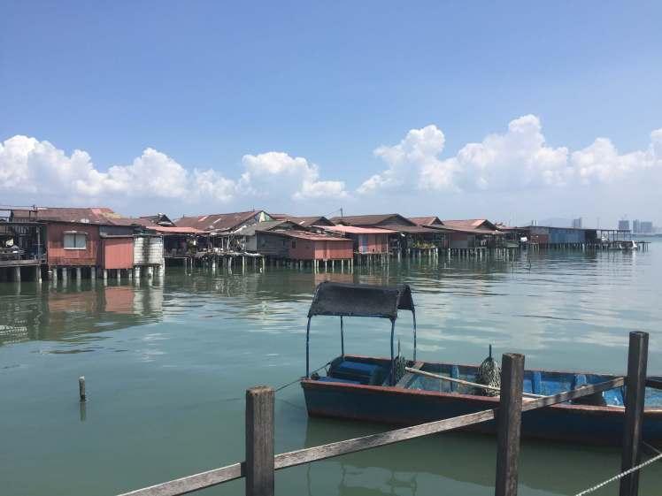 Clan Jetty in George Town, Malaysia