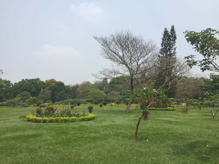 Cubbon Park in Bangalore, Karnataka, India