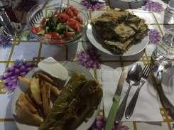 Dinner in Theth, Albania