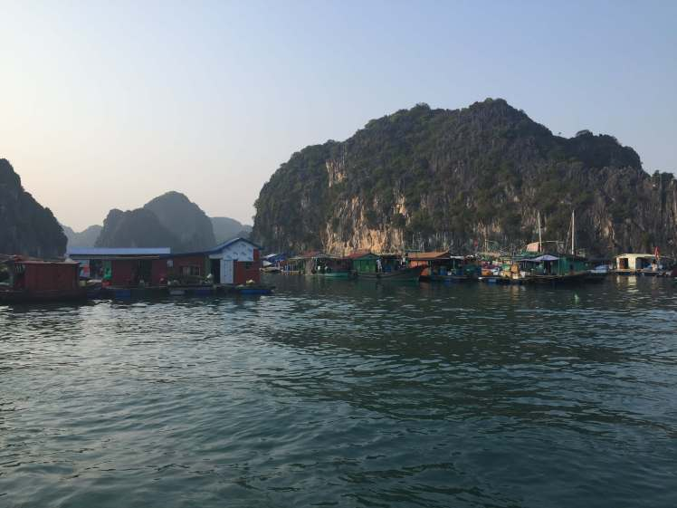 Floating Village in Lan Ha Bay, Vietnam