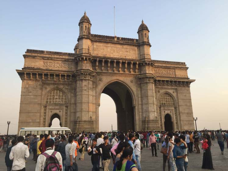 Gateway of India in Mumbai, Maharashtra, India