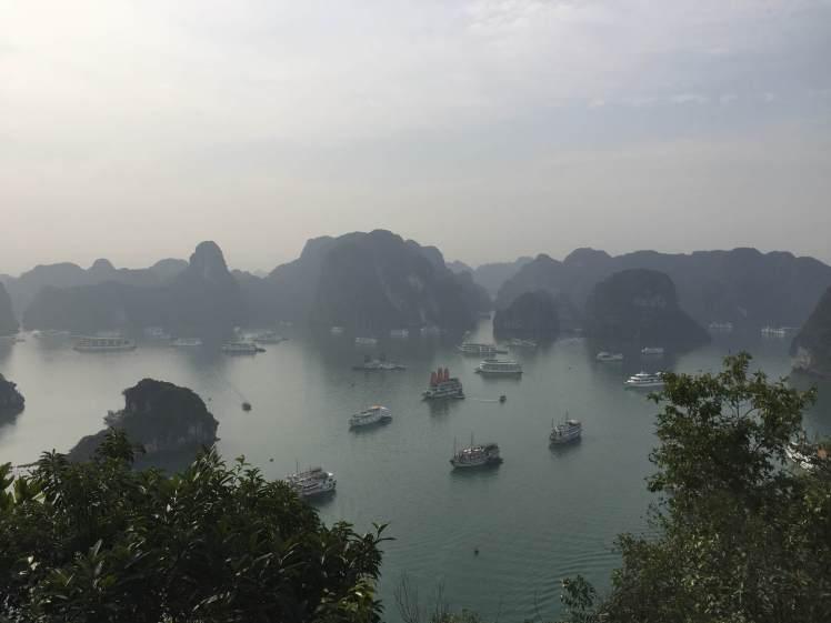 Ha Long Bay from Ti Top Island, Vietnam