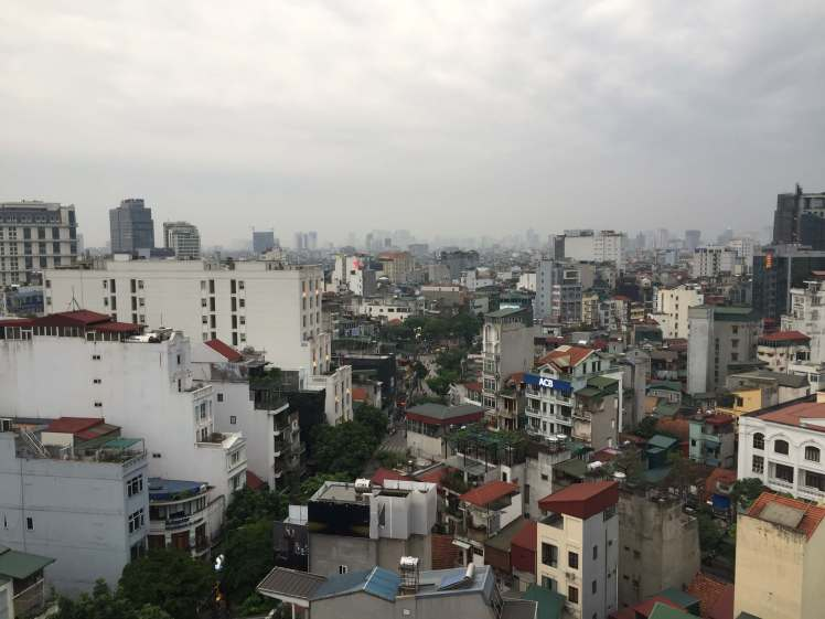 Skyline of Hanoi, Vietnam