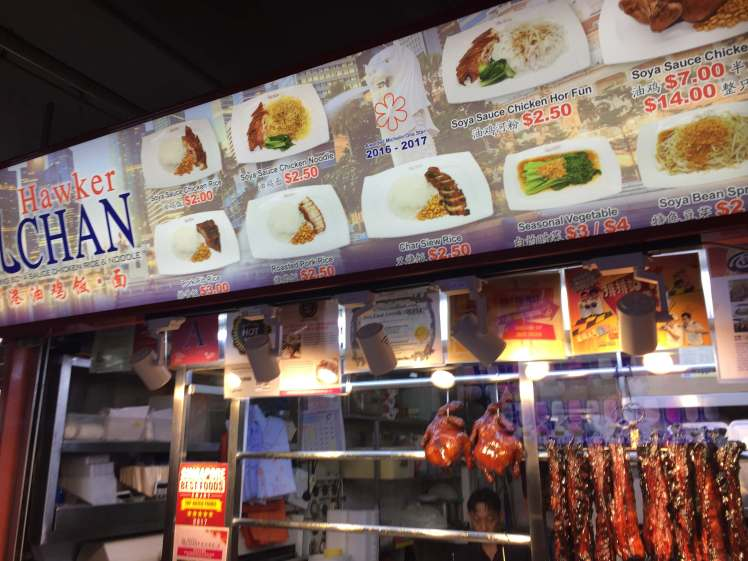 Hawker Chan in Singapore