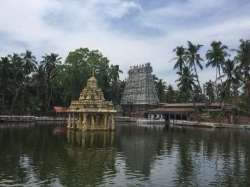 A Hindu Temple in Thuckalay, Tamil Nadu, India