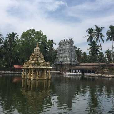 A Hindu Temple in Thuckalay, Tamil Nadu, India