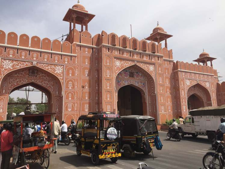 City Gate in the Pink City of Jaipur, Rajasthan, India