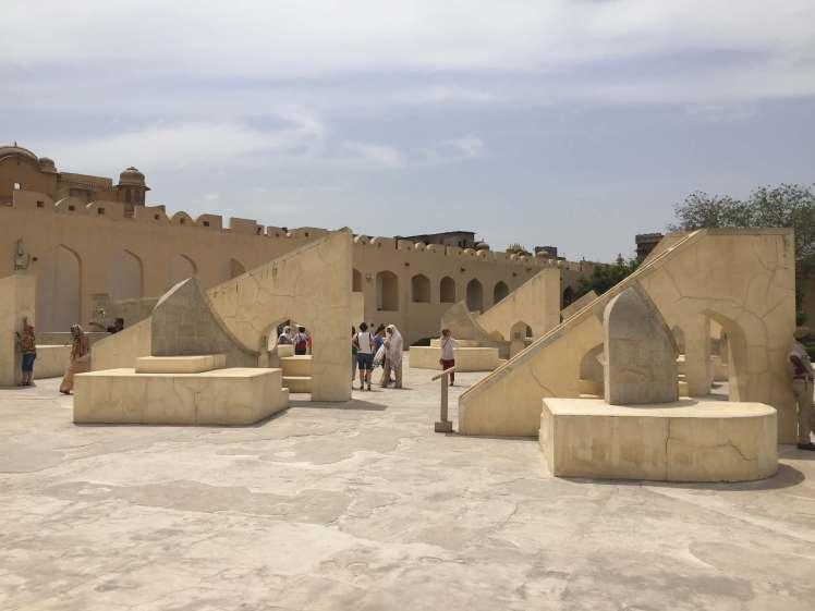THe Jantar Mantar in Jaipur, Rajasthan, India